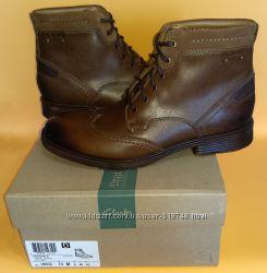 44р. 43 Нові черевики Clarks Devington Hi. Оригінал. Індія. US10