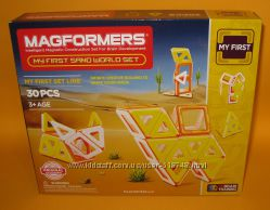 Новий Магнітний конструктор Magformers My First Sand World Set 30. Оригінал