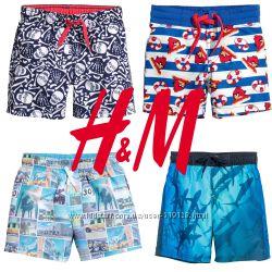 Шорти для купання хлопчикам 2-6 років від фірми H&M Швеція