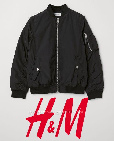 Стильна демісезонна куртка для хлопців 13-14 років від H&M Швеція