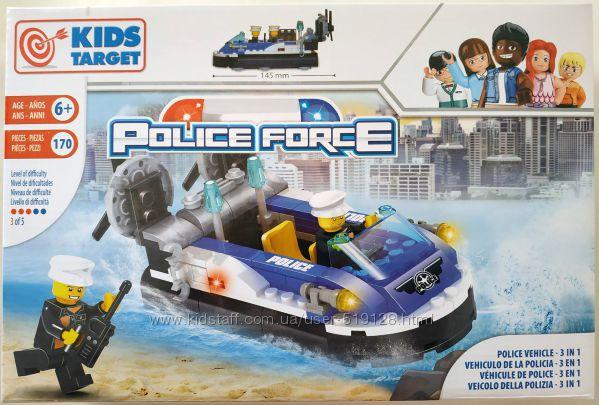 Якісні Lego сумісні конструктори Kids Target, Police