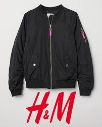Куртка демісезонна для дівчат 9-12 років від H&M Швеція