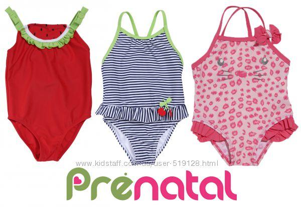 Яскраві злиті купальники для дівчат 3-24 місяці фірми Prenatal Італія