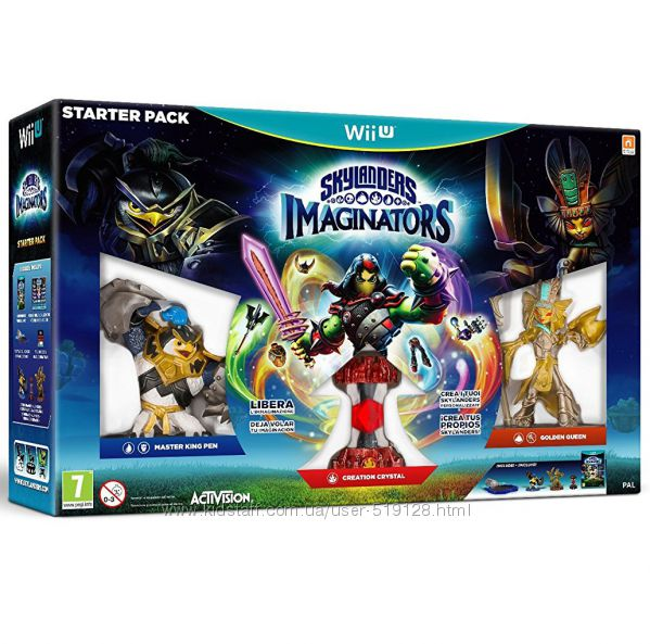 Skylanders Imaginators Starter pack для приставки Wii U від Nintendo