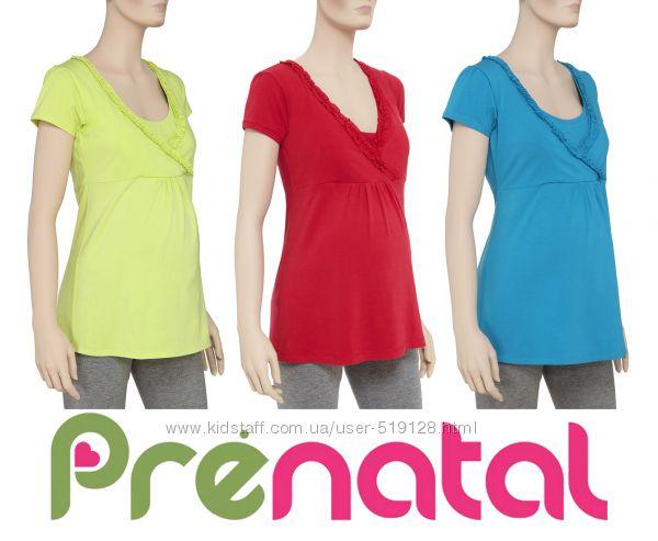 Туніки для вагітних та годуючих мам S, M, L, XL від фірми Prenatal Італія