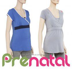 Туніки для вагітних та годуючих мам XS, S, L від фірми Prenatal Італія