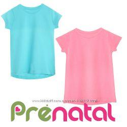 Футболки однотонні для дівчат 3-7 років фірми Prenatal Італія