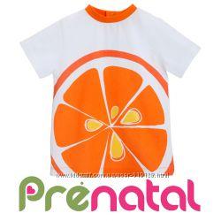 Яскраві фруктові футболки для хлопчиків 3-9 місяців фірми Prenatal Італія