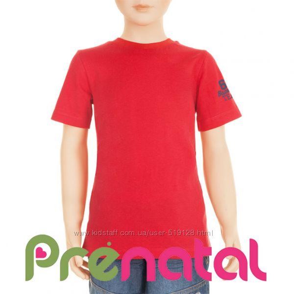 Футболки бавовняні однотонні для хлопчиків 3-7 років фірми Prenatal Італія