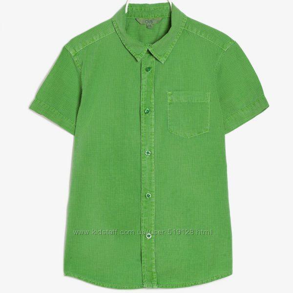 Літні сорочки з еффектом денім для хлопчиків 13-14 років фірми OVS Італія