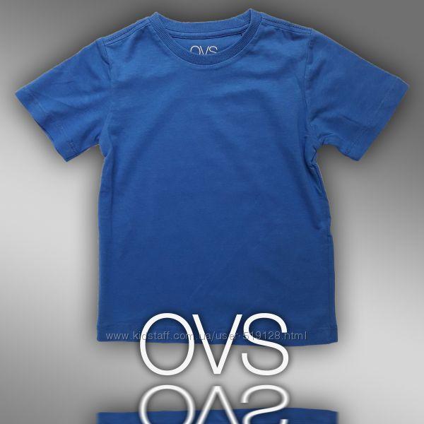 Футболки однотонні для хлопчиків 5-9 років фірми OVS Італія