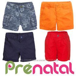 Шорти ситцеві для хлопчиків 3-9 місяців фірми Prenatal Італія
