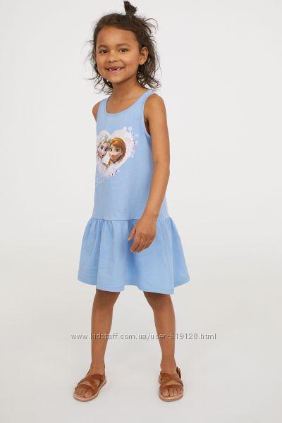 Сарафани Frozen, Minions для дівчат 1-8 років від фірми H&M Швеція