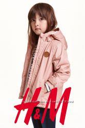 Парка з капюшоном для дівчат 1-2 роки фірми H&M Швеція