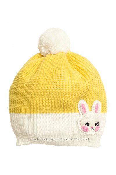 Величезний ассортимент шапок для дівчат від 2 до 14 років фірми H&M Швеція