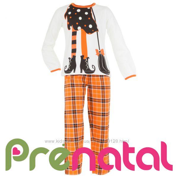 Піжами теплі Halloween для дівчат 1-6 років від фірми Prenatal Італія