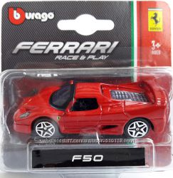Автомоделі Ferrari у масштабі 1 до 43 від фірми Bburago