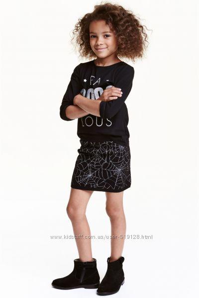 Спідниці вязані для дівчат 2-10 років від фірми H&M Швеція