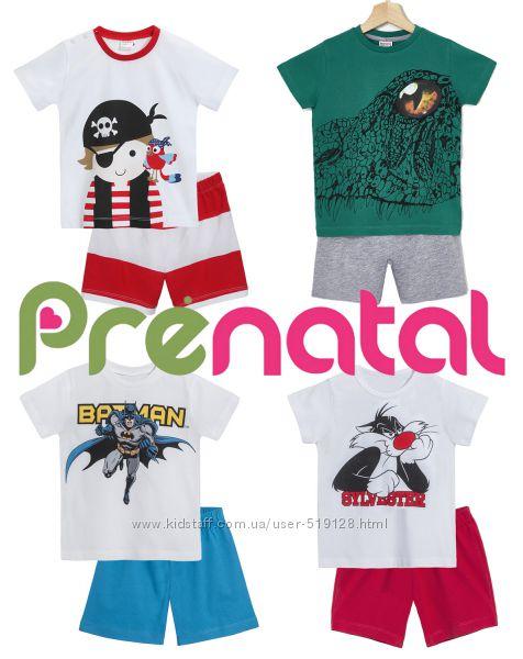Літні комплекти або піжами для хлопчиків 3-5 років фірми Prenatal Італія