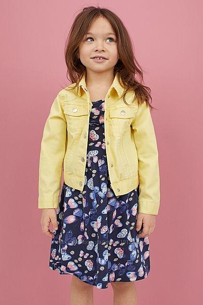 Сарафани з принтами та узорами для дівчат 2-10 років від H&M Швеція