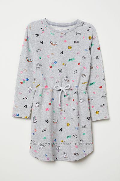 Плаття утеплені для дівчат 2-10 років від H&M Швеція