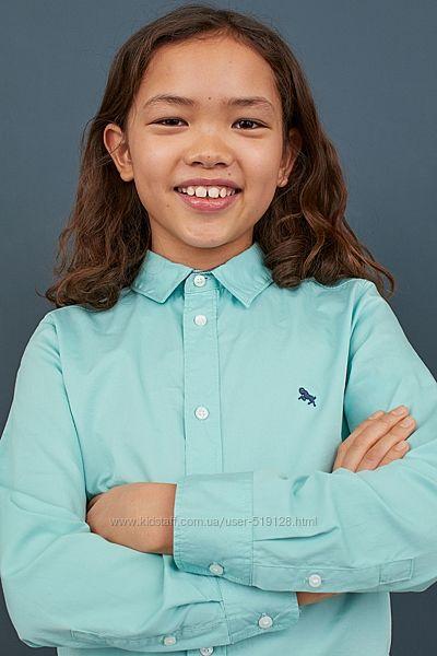 Сорочки для хлопців 8-14 років від H&M Швеція