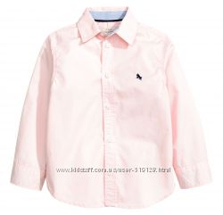 Сорочки бавовняні для хлопців 2-10 років від H&M Швеція