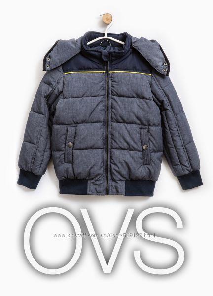 Куртка утеплена демісезонна для хлопчика 5-8 років від OVS Італія
