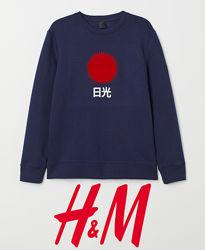 Чоловічі світшоти з принтами XS, S, XL від H&M Швеція