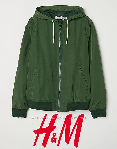 Куртка чоловіча S з капюшоном від H&M Швеція