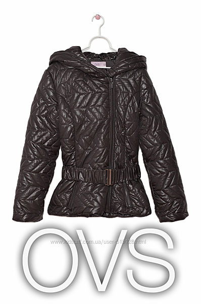 Стильна глянцева куртка для дівчинки 13-14 років від OVS Італія