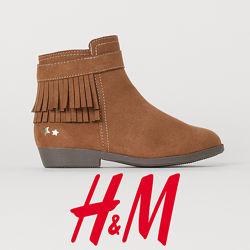 Ботільйони ковбойки для дівчат 27-31 розмір від H&M Швеція
