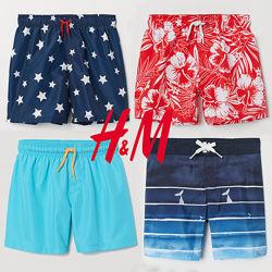 Шорти пляжні нейлонові для хлопчиків 2-14 років від H&M Швеція