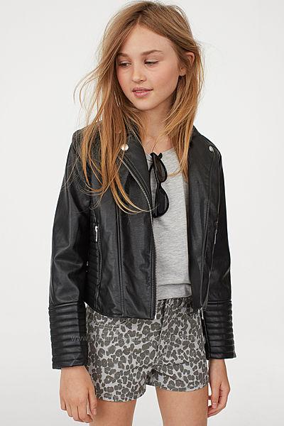 Шорти джинсові для дівчат 10-14 років від H&M Швеція