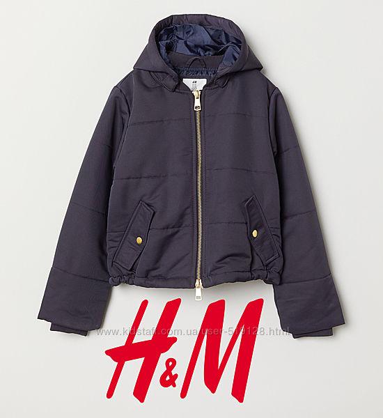Куртки демісезонні для дівчат 8-14 років від H&M Швеція