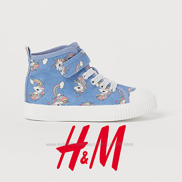 Хайтопи для дівчат 25-34 розмір фірми H&M Швеція