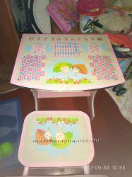 Продам детскую стол-парту со стулом