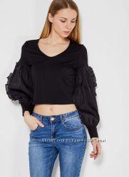 Лонгслив топ блуза