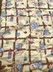 Одеяло Merkys детское силикон хлопок полиэфирное антиаллергенное