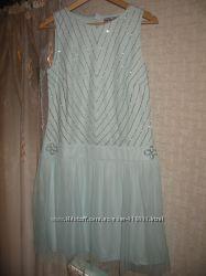 Новое коктельное брендовое платье Ashley Brooke, размер 38 европейский.