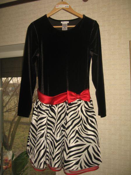 Шикарное новое платье для юной модницы bonnie jean, размер 18 12 америк.