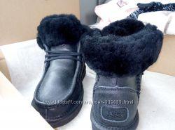 Ботиночки бурки  UGG AUSTRALIA женская модель овчина