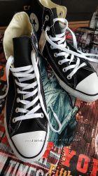 Converse. Оригинал. Коверс высокие черные кеды