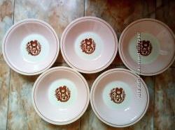 Тарелки с олимпийским мишкой ссср