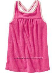Пляжное махровое платье OLD NAVY - размер 12-18 мес.
