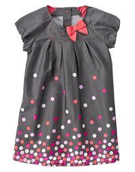 Нарядное платье в горох GYMBOREE - 3Т - рост 91-99 см
