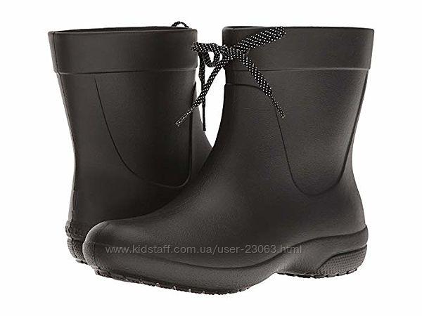 Дождевые сапоги Crocs Freesail Shorty Rain Boots - размер 33-34 - 22 см