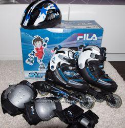 Детские раздвижные ролики Fila X-one combo 3 set