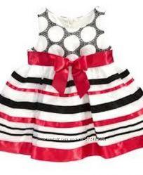 Яркое американское платье Bonnie Jean