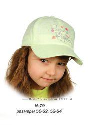 Распродажа кепок и панамок для девочек